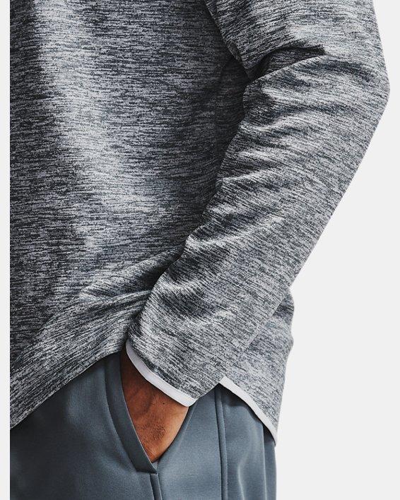 Men's Armour Fleece® ½ Zip, Gray, pdpMainDesktop image number 2