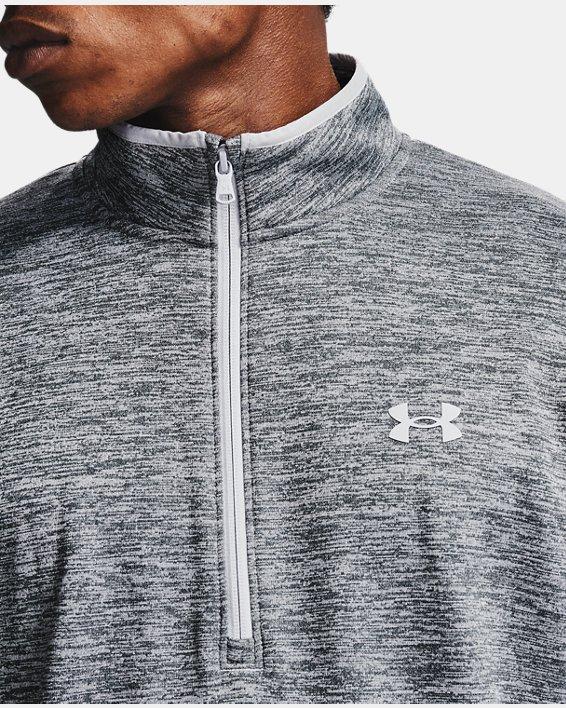 Men's Armour Fleece® ½ Zip, Gray, pdpMainDesktop image number 6