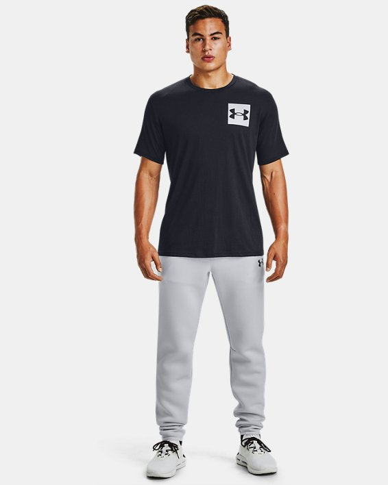 Men's UA Box Logo Short Sleeve, Black, pdpMainDesktop image number 1