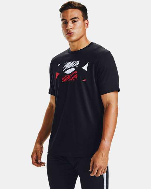 Men's UA Big Logo Sketch Short Sleeve