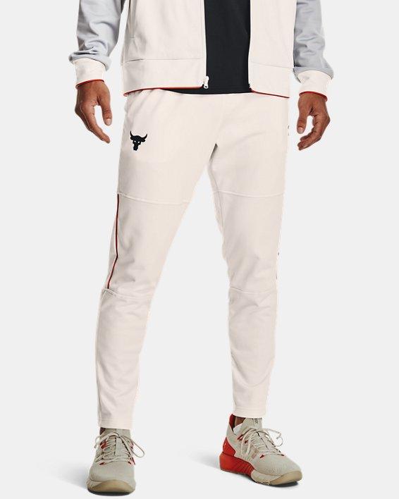 Pantalon de survêtement Project Rock Knit pour homme, White, pdpMainDesktop image number 1