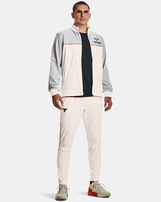 Pantalon de survêtement Project Rock Knit pour homme, White, pdpMainDesktop image number 0