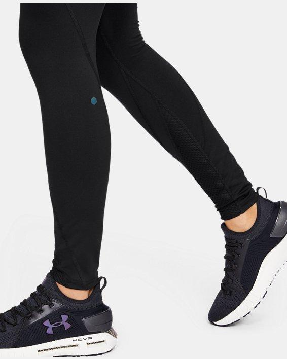 Women's UA RUSH™ Leggings, Black, pdpMainDesktop image number 6