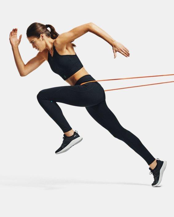 Women's UA RUSH™ Leggings, Black, pdpMainDesktop image number 0