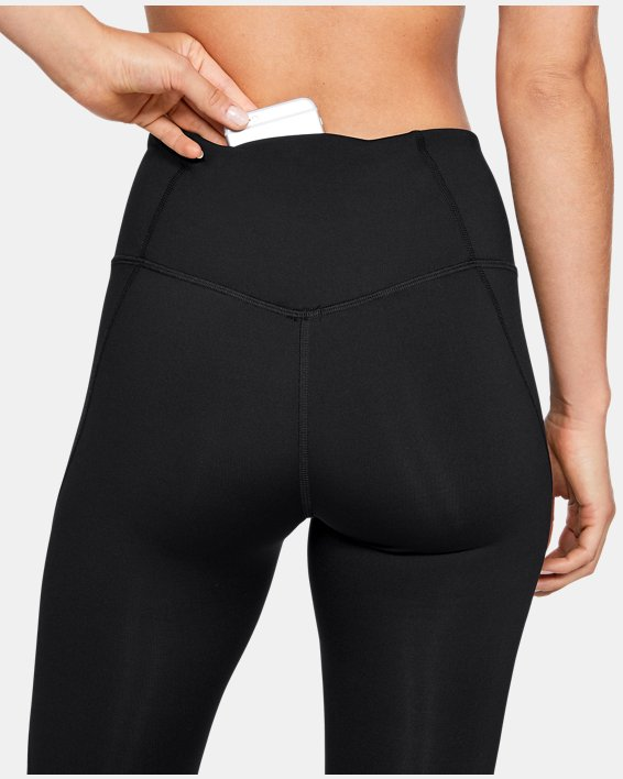 Women's UA RUSH™ Leggings, Black, pdpMainDesktop image number 7