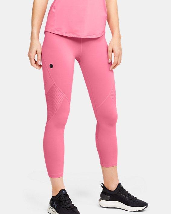 Women's UA RUSH™ Crop, Pink, pdpMainDesktop image number 0