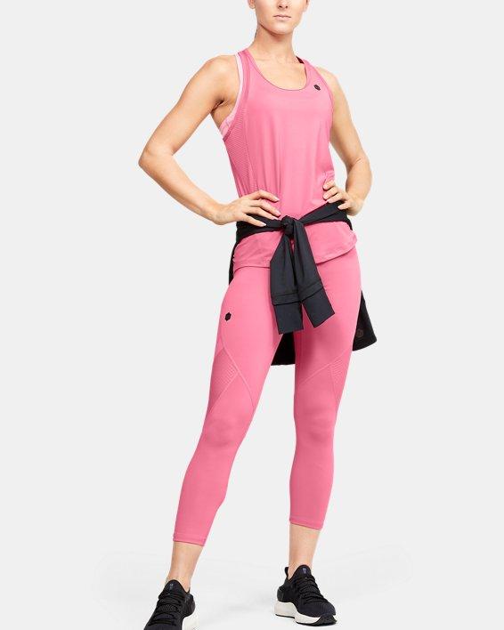 Women's UA RUSH™ Crop, Pink, pdpMainDesktop image number 1