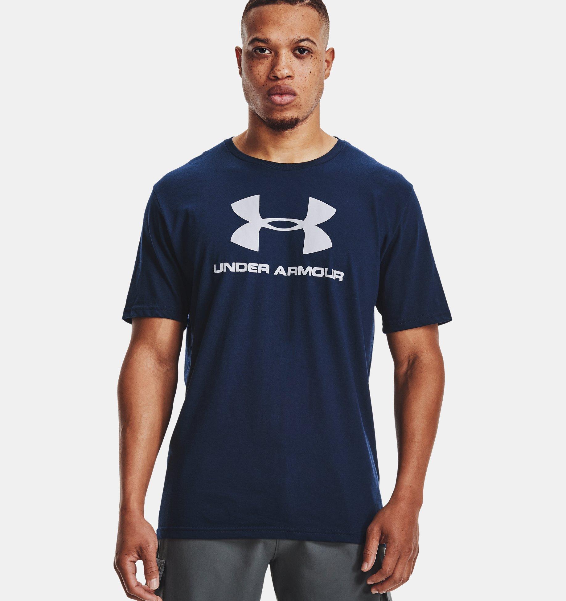 Underarmour Mens UA Sportstyle Logo Short Sleeve