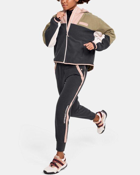 Women's UA Always On Polar Fleece Pants, Gray, pdpMainDesktop image number 1