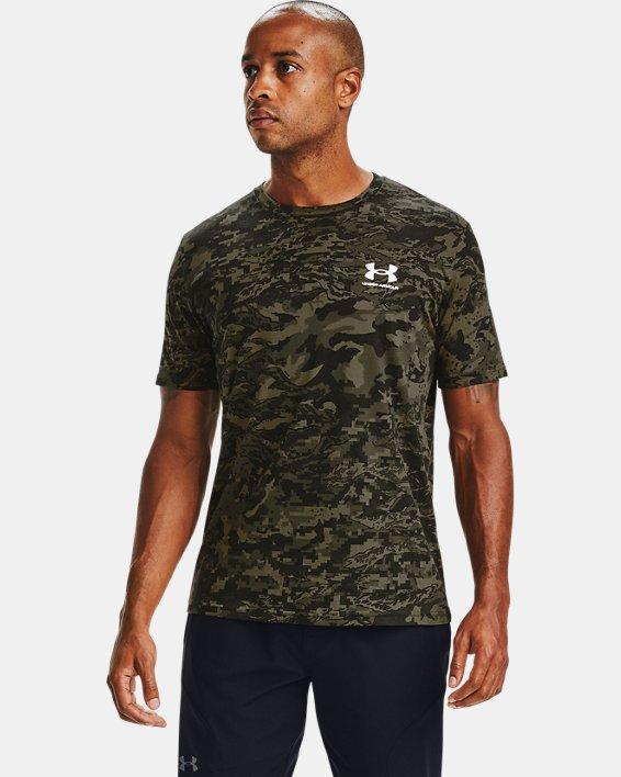 Men's UA ABC Camo Short Sleeve, Black, pdpMainDesktop image number 0