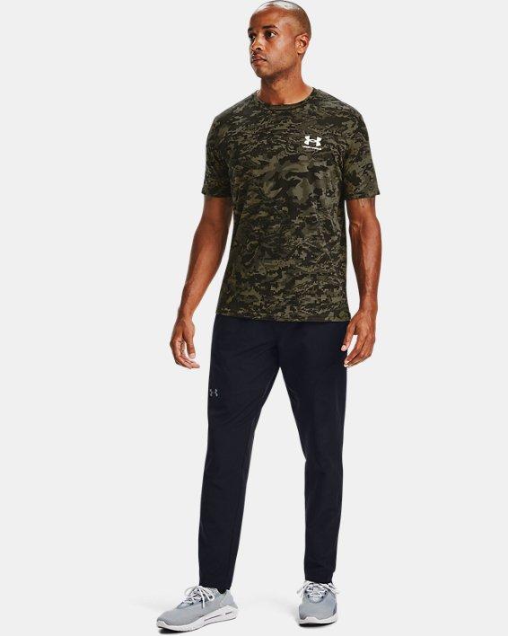 Men's UA ABC Camo Short Sleeve, Black, pdpMainDesktop image number 1