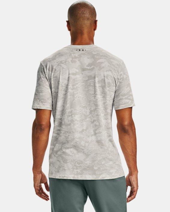 Men's UA ABC Camo Short Sleeve, White, pdpMainDesktop image number 2