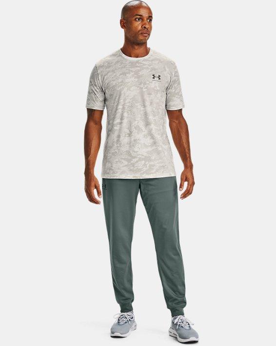 Men's UA ABC Camo Short Sleeve, White, pdpMainDesktop image number 1