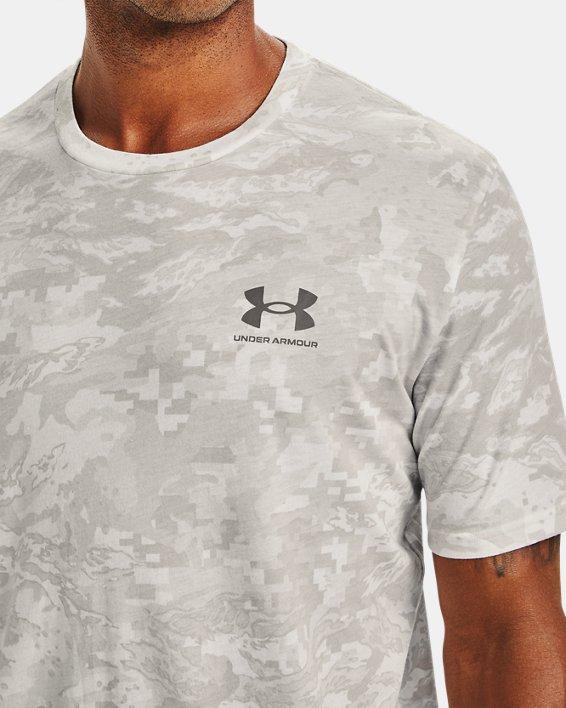 Men's UA ABC Camo Short Sleeve, White, pdpMainDesktop image number 3