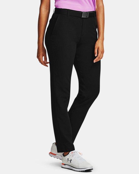 Women's UA Links Pants, Black, pdpMainDesktop image number 2