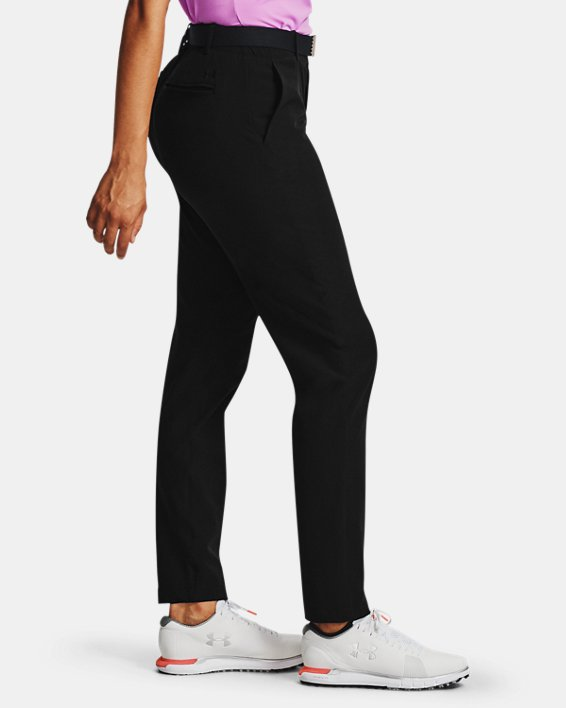 Women's UA Links Pants, Black, pdpMainDesktop image number 4