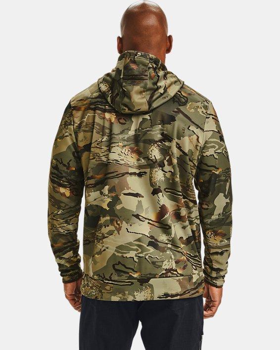 Men's Armour Fleece® Camo Hoodie, Camo, pdpMainDesktop image number 2