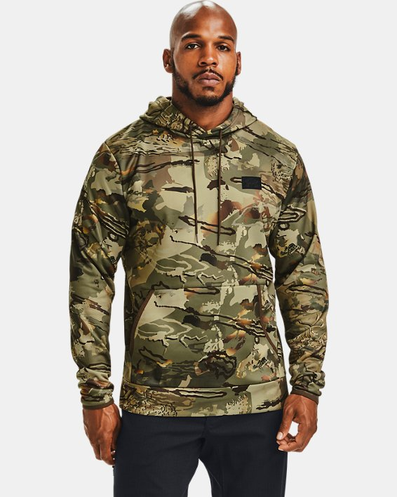 Men's Armour Fleece® Camo Hoodie, Camo, pdpMainDesktop image number 0