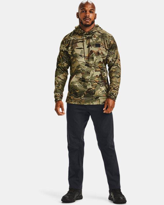 Men's Armour Fleece® Camo Hoodie, Camo, pdpMainDesktop image number 1