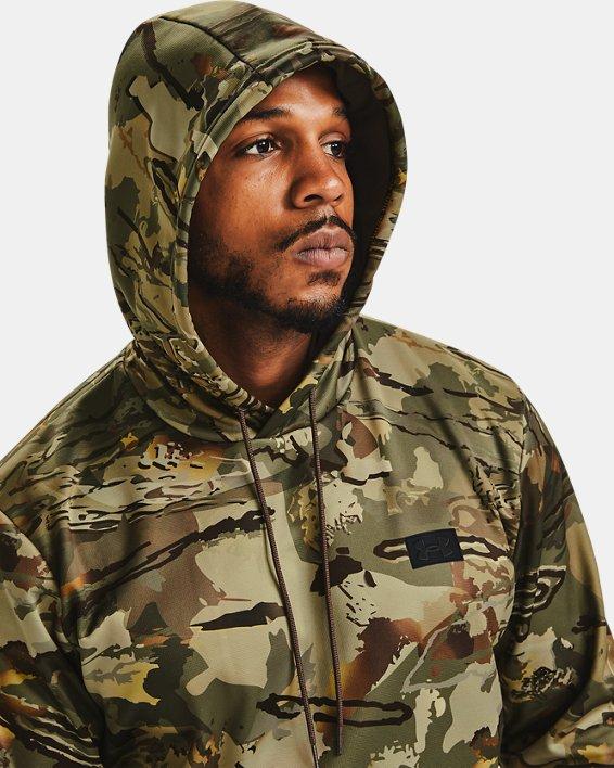 Men's Armour Fleece® Camo Hoodie, Camo, pdpMainDesktop image number 5