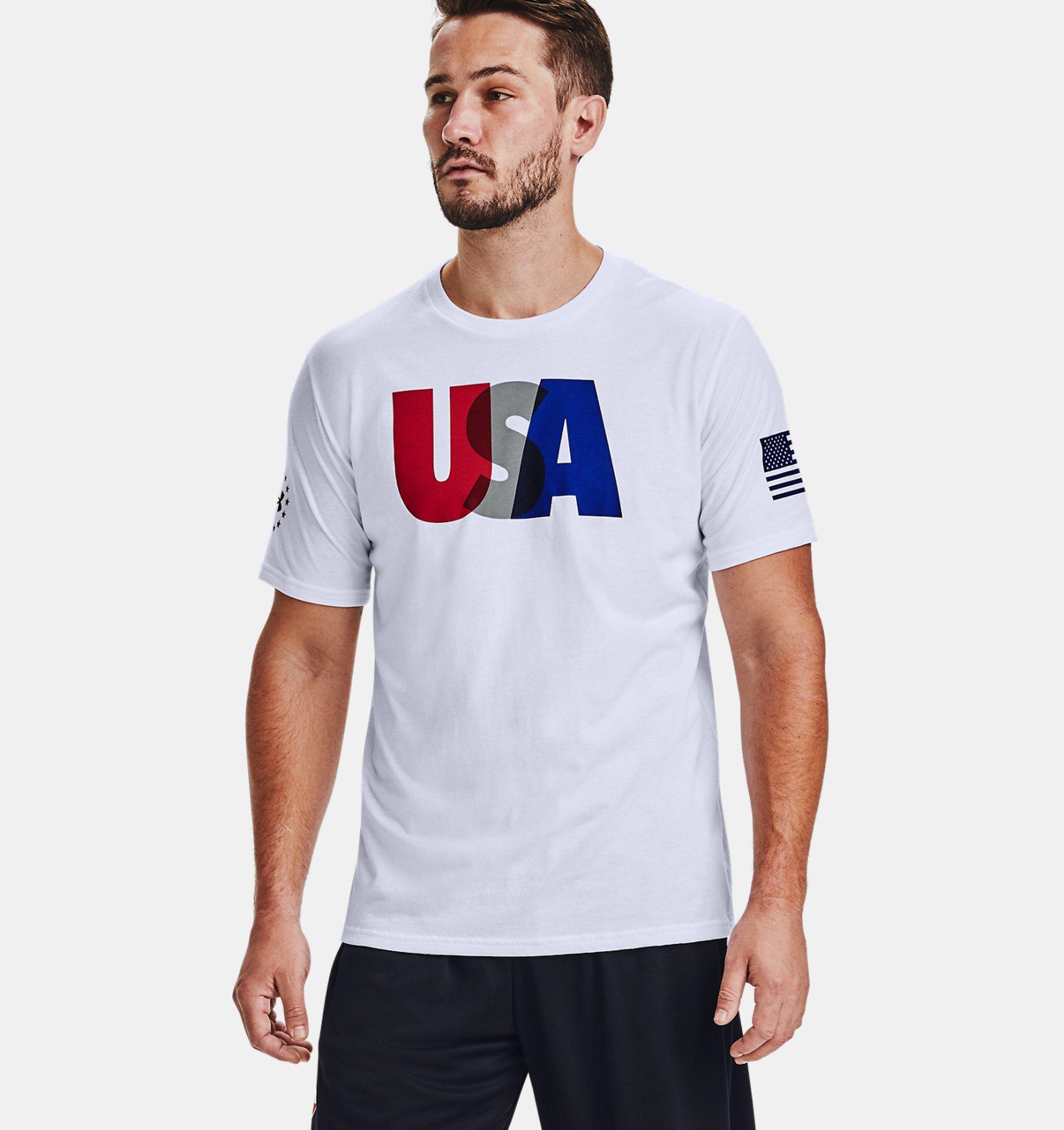 Underarmour Mens UA Freedom USA T-Shirt