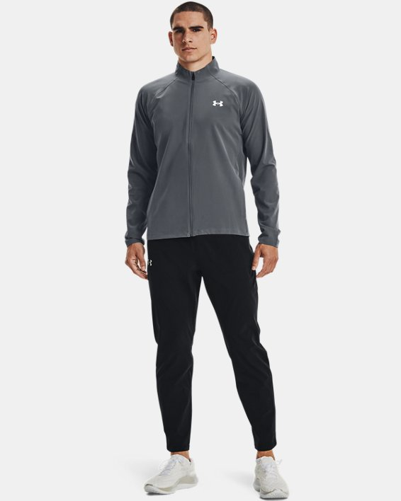 Men's UA Storm Launch 3.0 Jacket, Gray, pdpMainDesktop image number 1