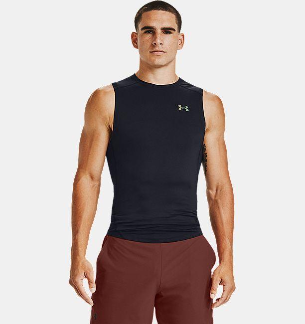 Men's UA RUSH™ HeatGear® 2.0 Compression Sleeveless