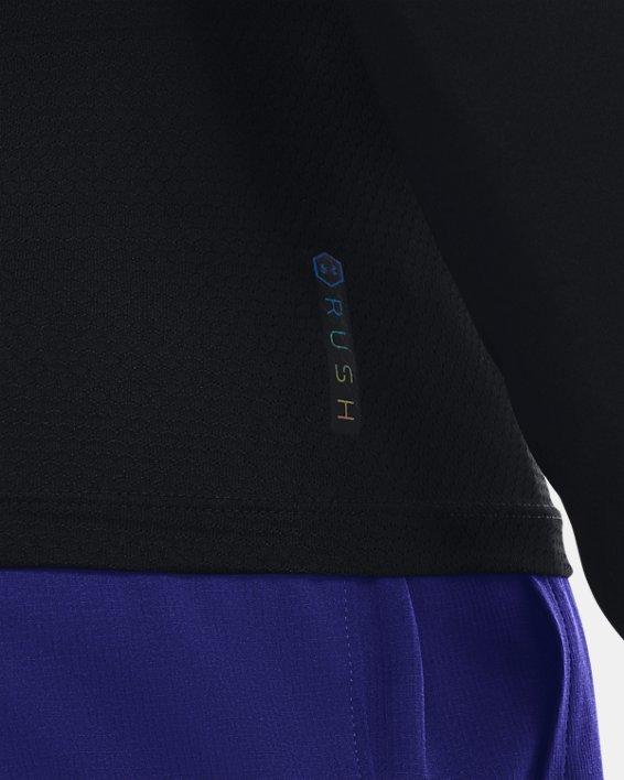 T-shirt à manches longues UA RUSH™ HeatGear® 2.0 Compression pour homme, Black, pdpMainDesktop image number 4