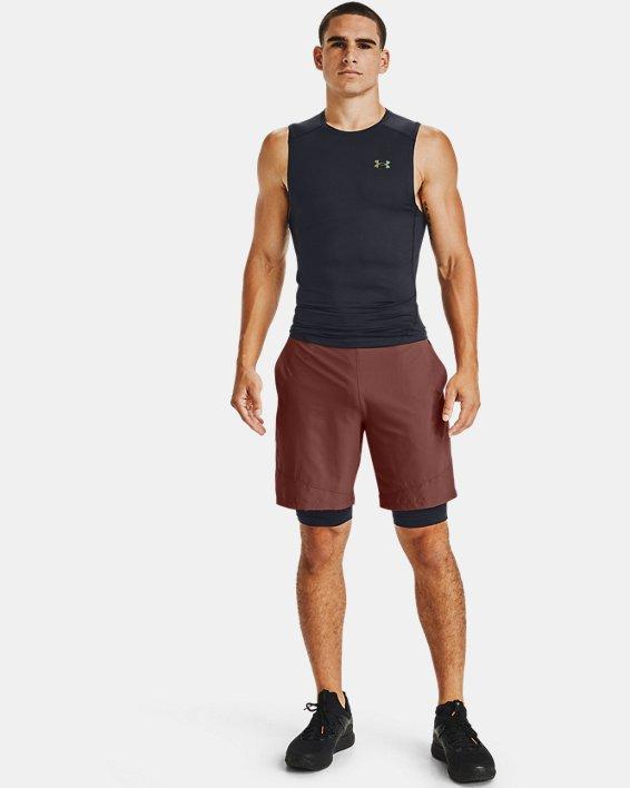 Men's UA RUSH™ HeatGear® 2.0 Compression Shorts, Black, pdpMainDesktop image number 1