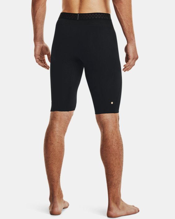 Herren UA RUSH™ HeatGear® 2.0 Lange Shorts, Black, pdpMainDesktop image number 2
