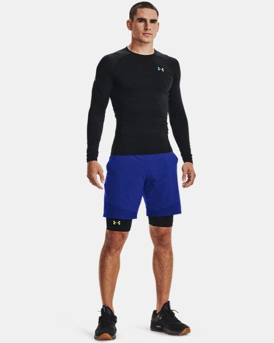 Herren UA RUSH™ HeatGear® 2.0 Lange Shorts, Black, pdpMainDesktop image number 1