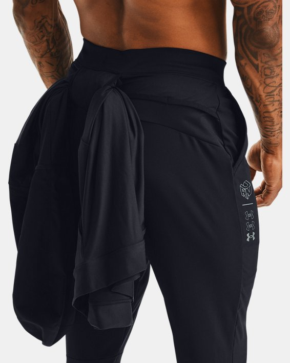 Pantalon ¾ UA Run Anywhere pour homme, Black, pdpMainDesktop image number 5