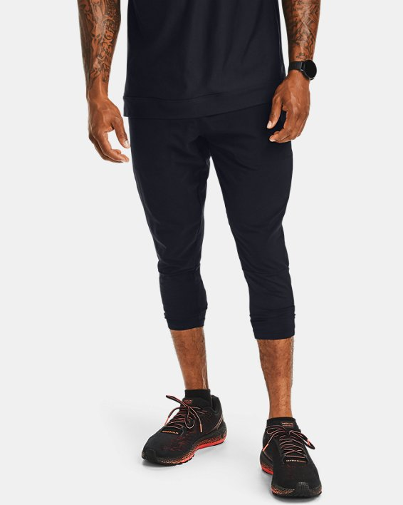 Pantalon ¾ UA Run Anywhere pour homme, Black, pdpMainDesktop image number 0