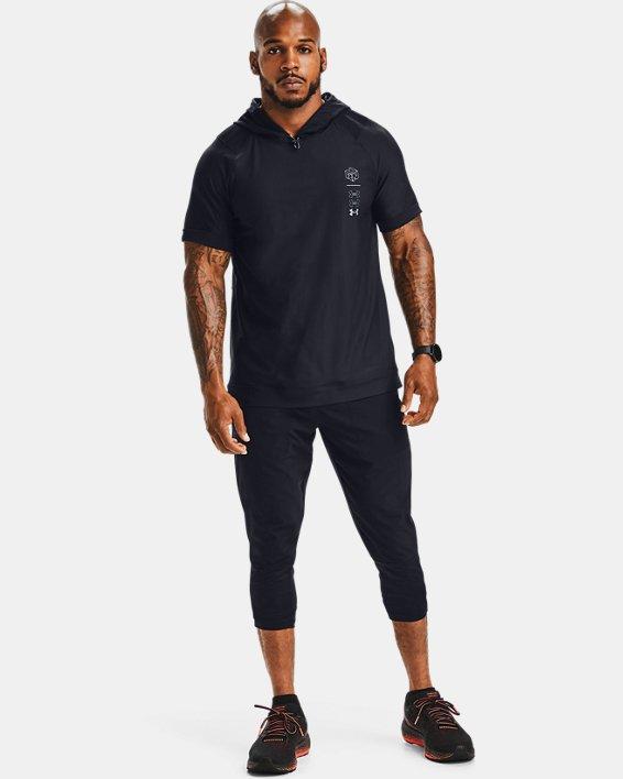 Pantalon ¾ UA Run Anywhere pour homme, Black, pdpMainDesktop image number 1