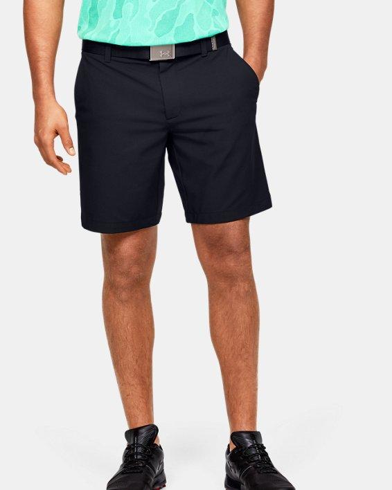 언더아머 골프 반바지 Under Armour Mens UA Iso-Chill Shorts,Black-001
