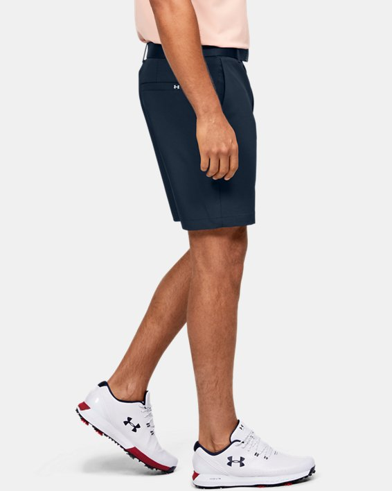 Men's UA Iso-Chill Shorts, Navy, pdpMainDesktop image number 4