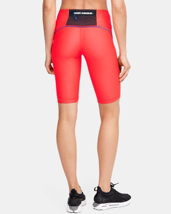 Short cycliste UA Summit pour femme, Red, pdpMainDesktop image number 2