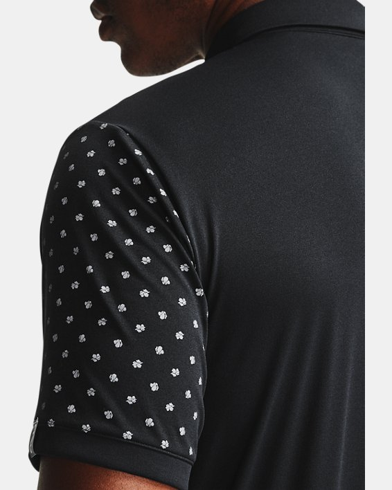 Men's UA Range Unlimited Coast Polo, Black, pdpMainDesktop image number 5