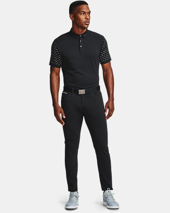 Men's UA Range Unlimited Coast Polo, Black, pdpMainDesktop image number 0