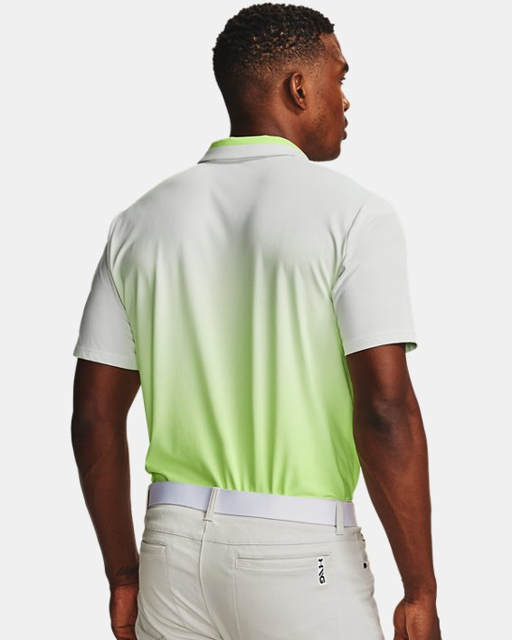 Men's UA Range Unlimited Fade Polo, White, pdpMainDesktop image number 2