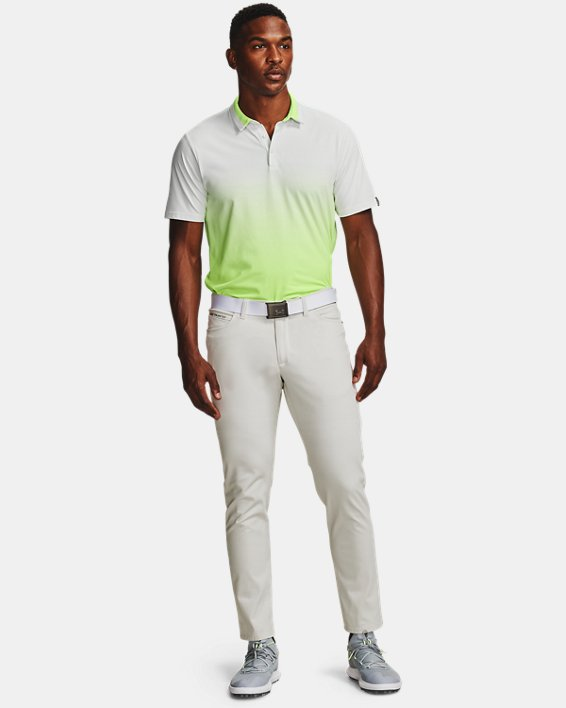 Men's UA Range Unlimited Fade Polo, White, pdpMainDesktop image number 0