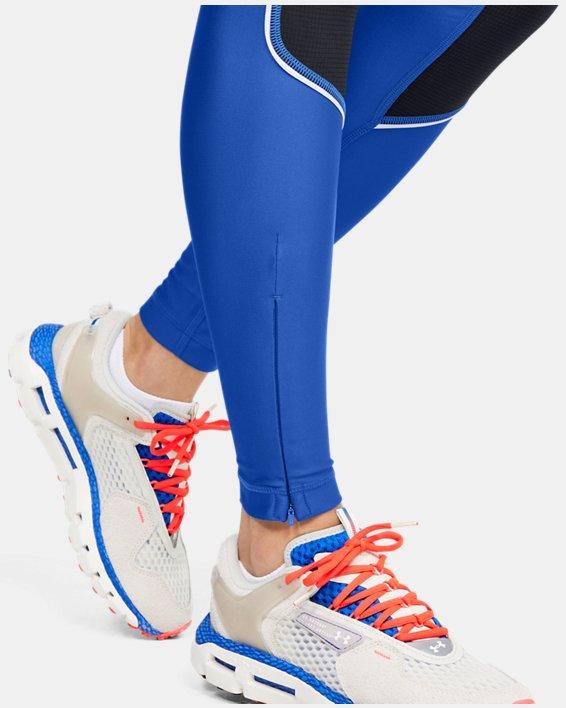 Women's UA Summit Leggings, Blue, pdpMainDesktop image number 6