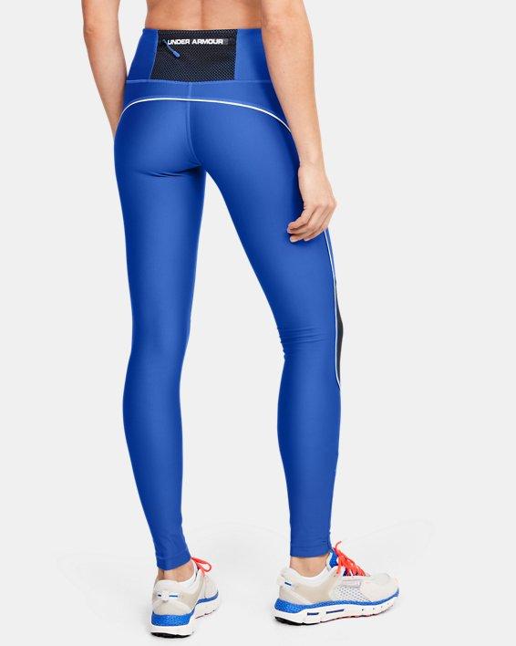 Women's UA Summit Leggings, Blue, pdpMainDesktop image number 2