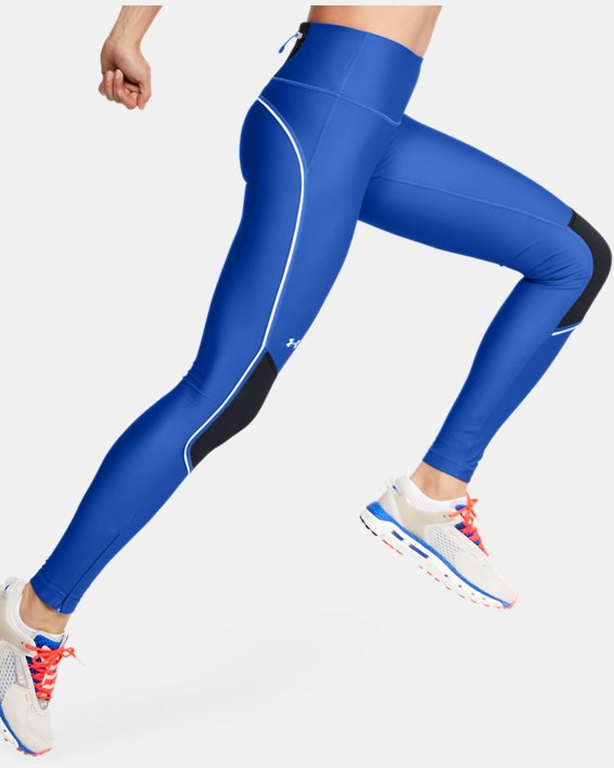 Women's UA Summit Leggings, Blue, pdpMainDesktop image number 3