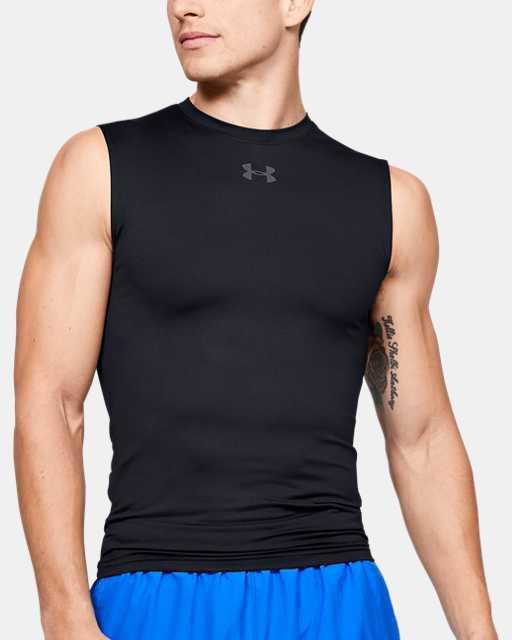 Men's HeatGear® Armour Sleeveless Compression