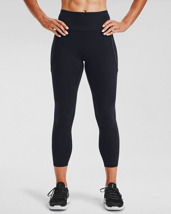 Women's UA HydraFuse Ankle Leggings, Black, pdpMainDesktop image number 0