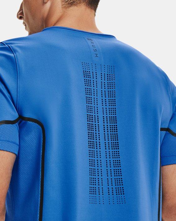 Men's UA + Virgin Galactic RUSH™ Short Sleeve, Blue, pdpMainDesktop image number 6