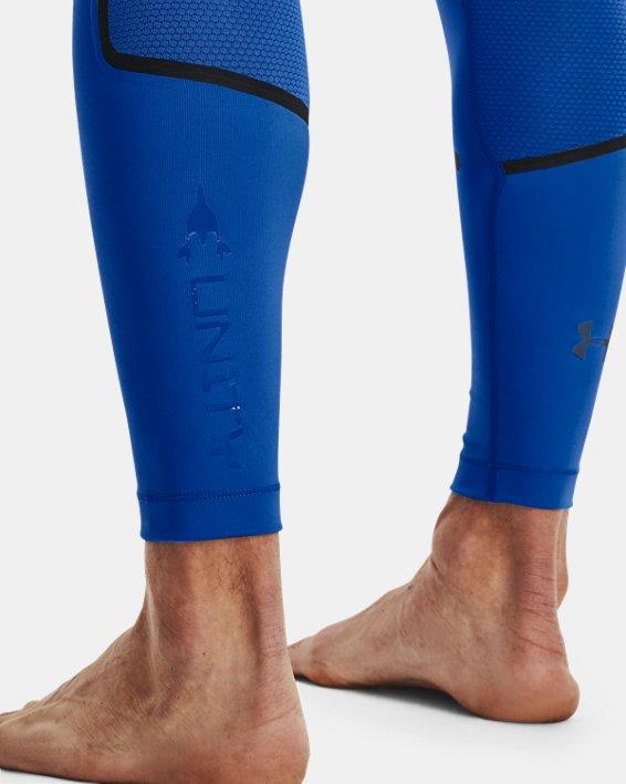 Men's UA + Virgin Galactic RUSH™ Leggings, Blue, pdpMainDesktop image number 6
