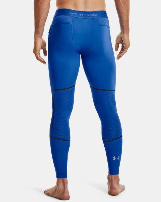 Men's UA + Virgin Galactic RUSH™ Leggings, Blue, pdpMainDesktop image number 2