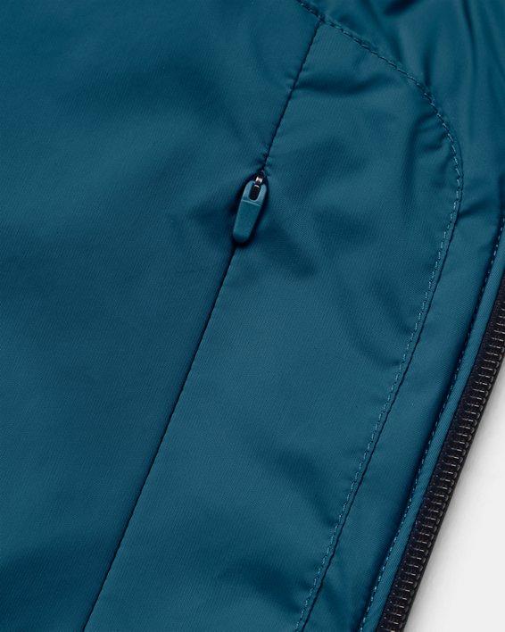 Unisex UA + Virgin Galactic Flight Jacket, Blue, pdpMainDesktop image number 8